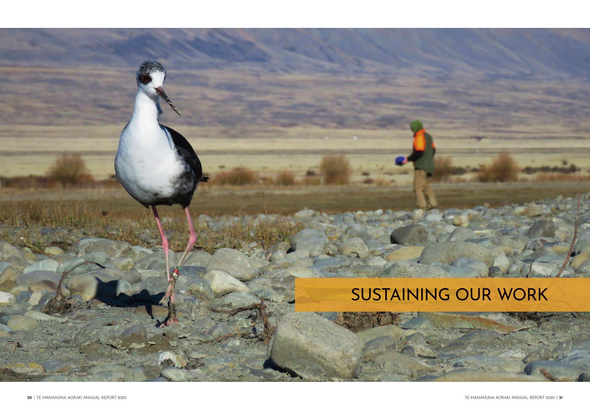 Te Manahuna Aoraki Annual Report 2020